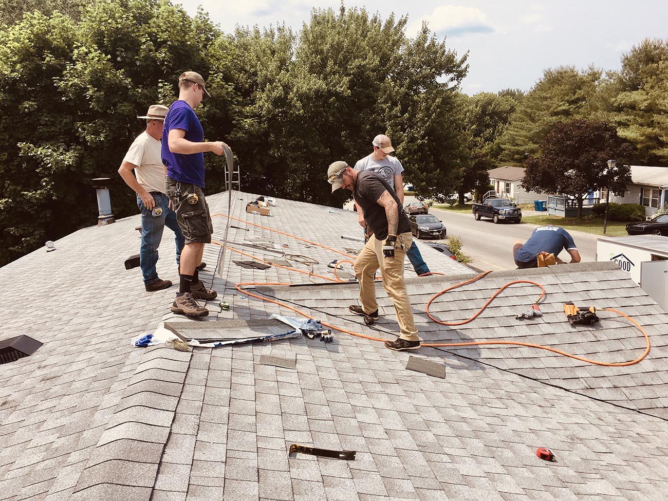 roofing job WJBQXW9